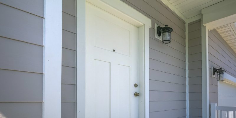 • There is very little maintenance involved with vinyl siding